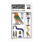 Sello egipcio antiguo de los Hieroglyphics