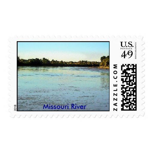 Sello/el río Missouri