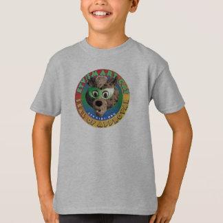 Sello elegante del gato de ETV de la camiseta de Playeras