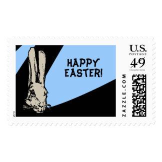 Sello enrrollado de Pascua los E.E.U.U. del conejo