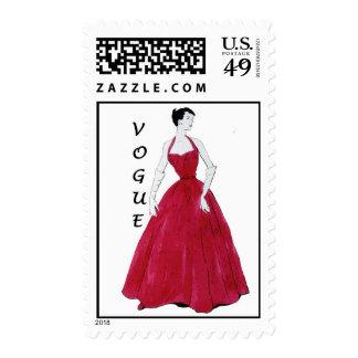 Sello especial del diseño de Vogue