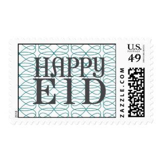 Sello feliz de la MOD Eid
