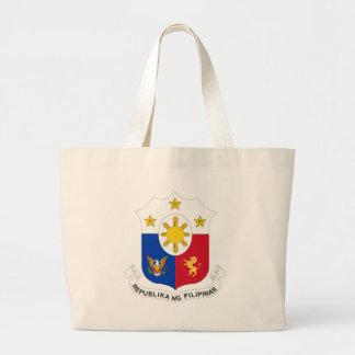 Sello filipino bolsa tela grande