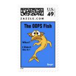 Sello (franqueo) - OOPS los pescados (pescados ani