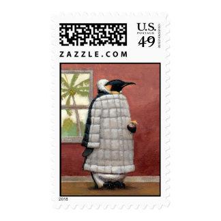 Sello fresco del pingüino