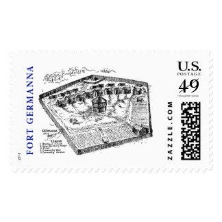 Sello: Fuerte Germanna de la fundación de Germanna Timbres Postales