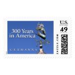 Sello: Germanna--300 años en América