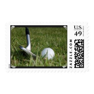 Sello Golfing de la foto