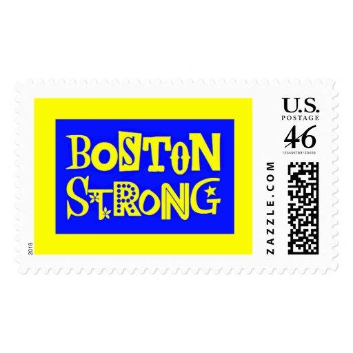 Sello grande fuerte de Boston