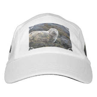 Sello gris lindo gorras de alto rendimiento
