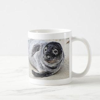Sello gris taza clásica