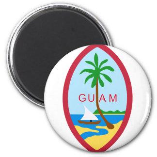 Sello GU de Guam Imán