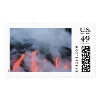 Sello hawaiano de la lava