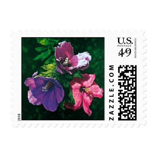 Sello hawaiano de los E.E.U.U. del hibisco