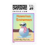 Sello hawaiano del muñeco de nieve (MED)