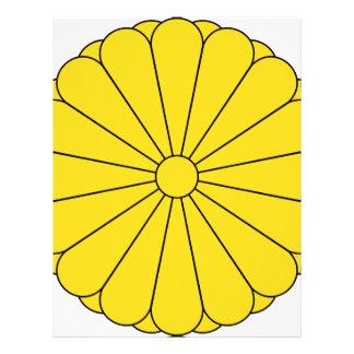 Sello imperial de Japón Plantilla De Membrete