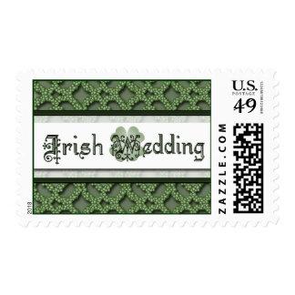 Sello irlandés del boda