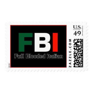 Sello italiano del FBI los E.E.U.U.