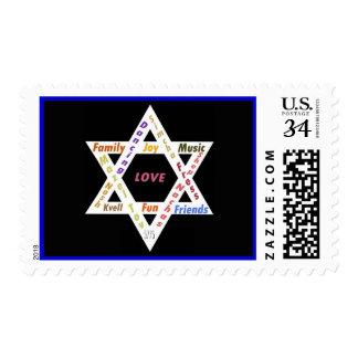 Sello judío de la celebración de los valores