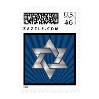 Sello judío de Mitzvah de la barra de plata de la