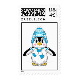Sello lanoso del pingüino del gorra