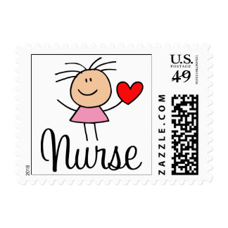 Sello lindo de la enfermera