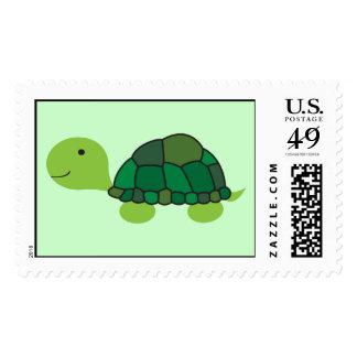 Sello lindo de la tortuga