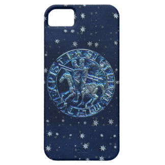 Sello medieval de los caballeros Templar iPhone 5 Cárcasa