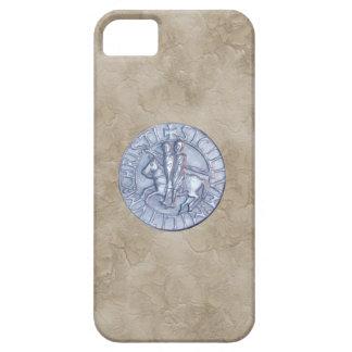 Sello medieval de los caballeros Templar iPhone 5 Carcasa
