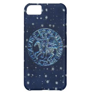 Sello medieval de los caballeros Templar Funda Para iPhone 5C