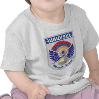 Sello militar armenio camiseta