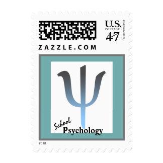 Sello moderno de la psicología de la escuela