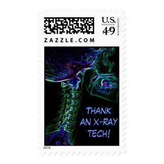 Sello multicolor de la radiografía de la C-Espina