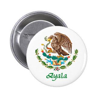 Sello nacional mexicano de Ayala Pins