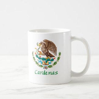 Sello nacional mexicano de Cardenas Taza