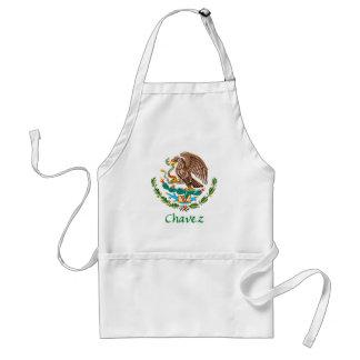 Sello nacional mexicano de Chavez Delantal