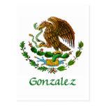 Sello nacional mexicano de Gonzalez Postal