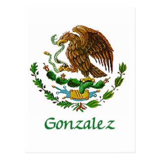 Sello nacional mexicano de Gonzalez Postales