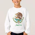 Sello nacional mexicano de Juarez Sudadera