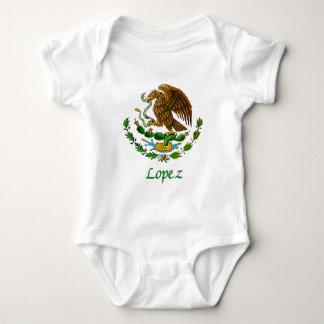 Sello nacional mexicano de López Body Para Bebé