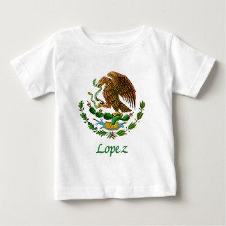 Sello nacional mexicano de López Playera De Bebé