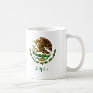 Sello nacional mexicano de López Taza Clásica
