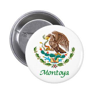Sello nacional mexicano de Montoya Pins