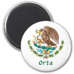 Sello nacional mexicano de Orta Imán De Frigorífico
