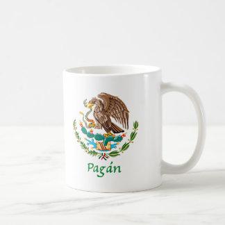 Sello nacional mexicano de Pagán Taza Básica Blanca