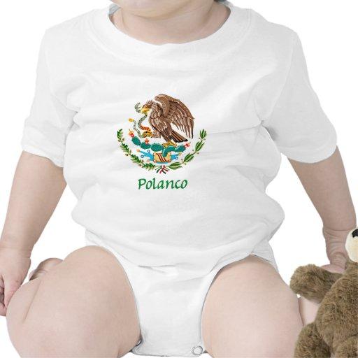 Sello nacional mexicano de Polanco Camisetas