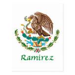 Sello nacional mexicano de Ramírez Tarjetas Postales