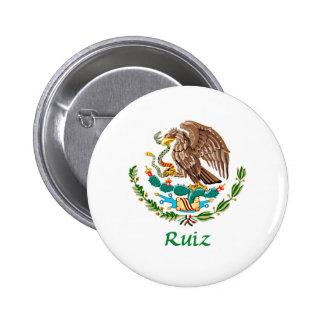 Sello nacional mexicano de Ruiz Pins