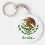 Sello nacional mexicano de Sánchez Llavero Redondo Tipo Pin