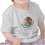 Sello nacional mexicano de Santiago Camiseta